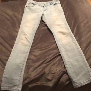 Crazy 8 girl skinny jeans size 12